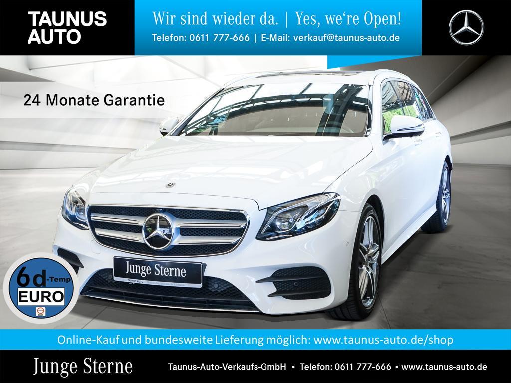 Mercedes-Benz E 450 4M T AMG-LINE COMAND WIDE AHK SHD DISTRONI, Jahr 2019, Benzin