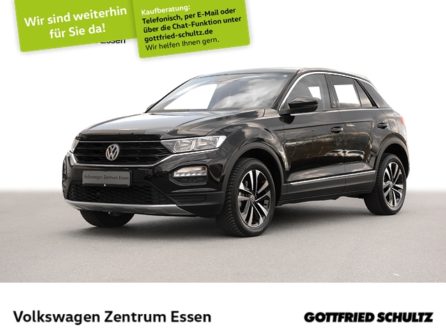 Volkswagen T-Roc United 1.0 TSI Navi SHZ Alu17 ACC, Jahr 2020, Benzin