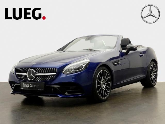 Mercedes-Benz SLC 300 AMG COM+Pano+LED+Mem+Distr+PTS, Jahr 2018, petrol