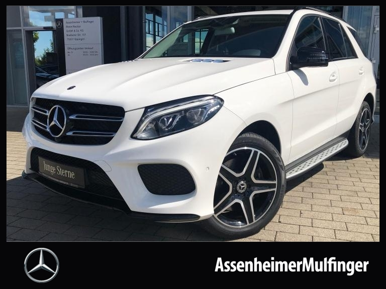 Mercedes-Benz GLE 400 4matic AMG **COMAND/AHK/360°/Night, Jahr 2017, Benzin
