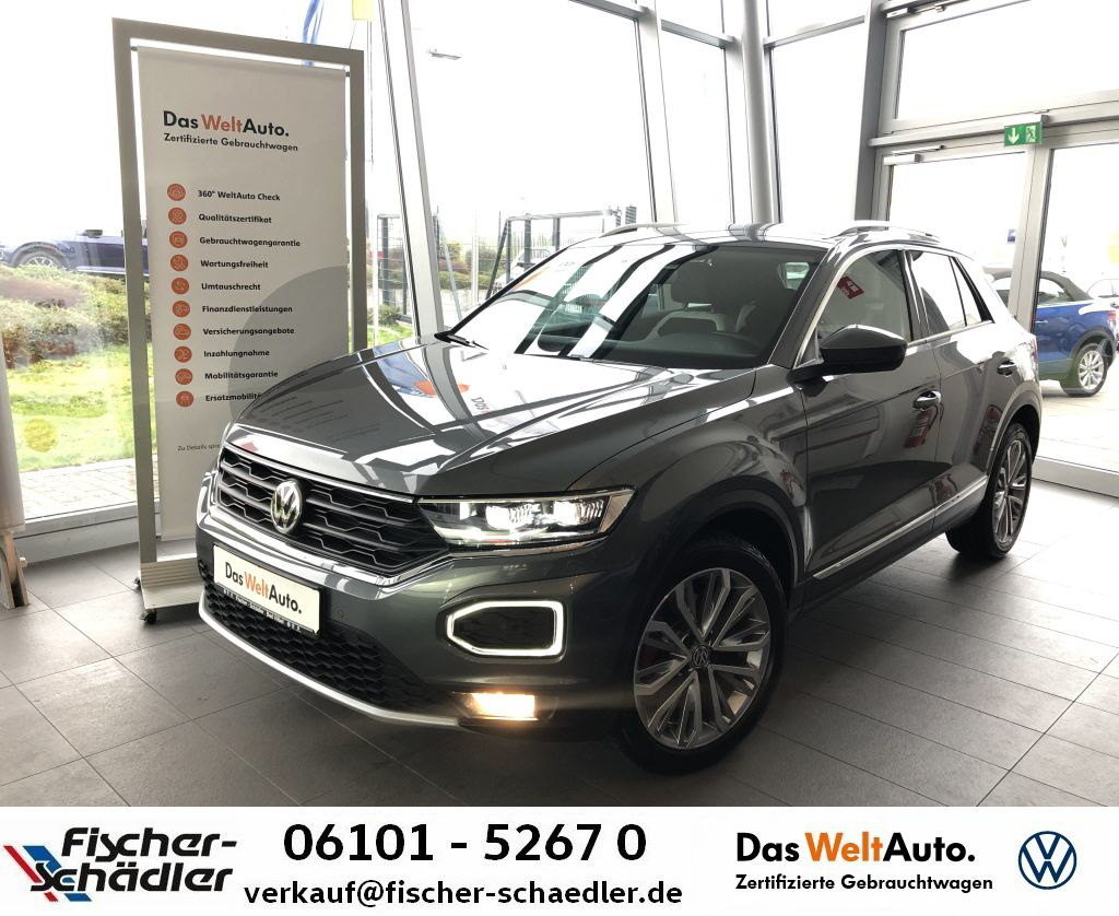 Volkswagen T-ROC Sport 1.5TSI*LED*Navi*AssistenzPlus*18''*A, Jahr 2019, Benzin
