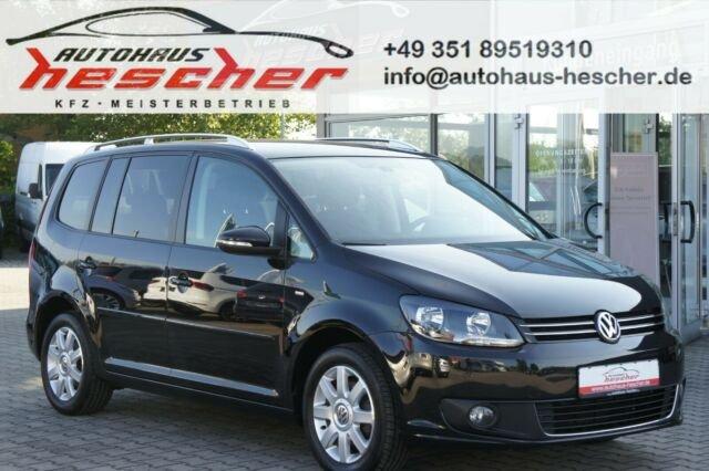 Volkswagen Touran 1,2 TSI Cup *NAVI*PDC*TEMPOMAT*SITZHZG*, Jahr 2014, Benzin