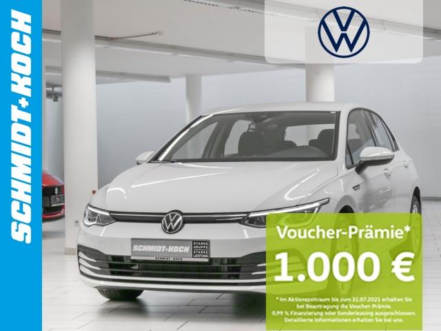 Volkswagen Golf VIII 2.0 TDI Life AHK NAVI LED ACC DCC PDC, Jahr 2020, Diesel