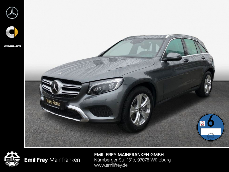 Mercedes-Benz GLC 350 d 4M Exclusive+AHK+Distro+COMAND+DAB+Kam+Park, Jahr 2017, Diesel