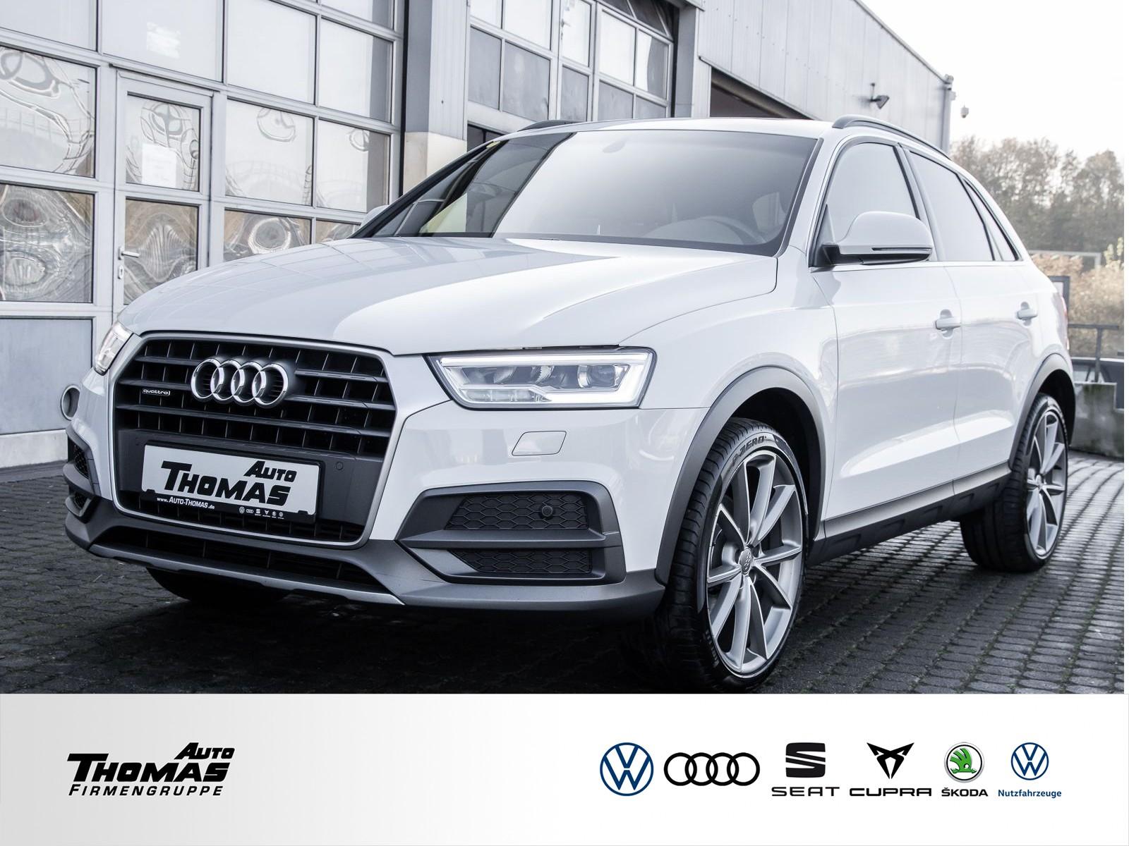 "Audi Q3 ""Design"" 2.0 TFSI quattro S tronic LED+NAVI, Jahr 2017, petrol"