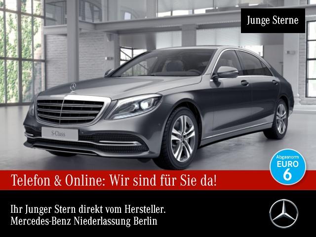 Mercedes-Benz S 450 L FirstClass Airmat Burmester COMAND LED PTS, Jahr 2018, Benzin