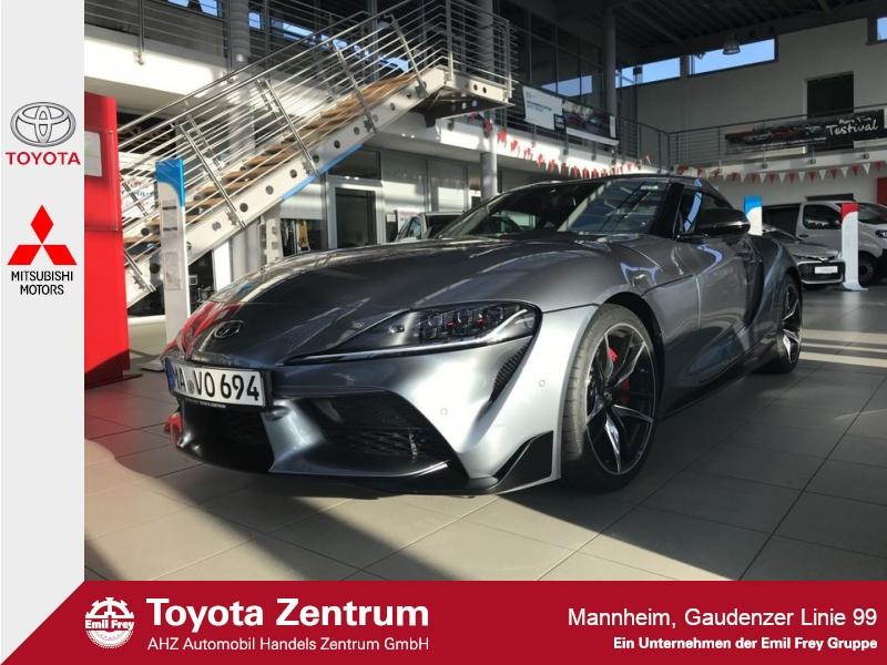 Toyota Supra GR 3.0 Premium-Paket, Leder, Navi, Head-Up Display, Jahr 2019, petrol