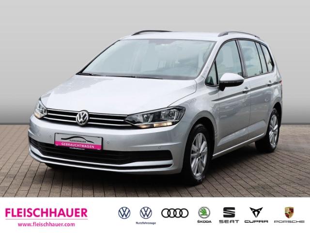 Volkswagen Touran Comfortline 1.5 TSI DSG+Navi+7-Sitzer+AHK+Telefon, Jahr 2020, Benzin