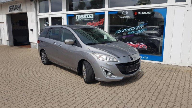 Mazda 5 1.6 l MZ-CD 85 kW (115 PS) 6GS AL-SENDO NAV XEN, Jahr 2014, Diesel