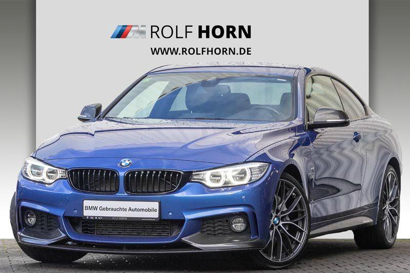 BMW 435d xDrive Coupe M Sportpaket Carbonteile EURO6, Jahr 2016, diesel