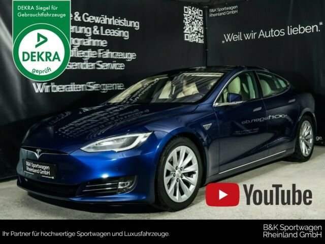 Tesla Model S 90D PREMIUM/PANO/NEXTGEN-LEDER, Jahr 2016, Elektro