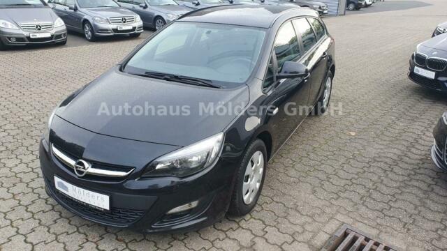 Opel Astra 1.4 Kombi *Garantie*Klima*99 mtl., Jahr 2015, Benzin