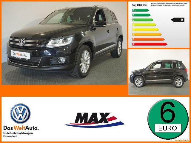 Volkswagen Tiguan 2.0 TDI LOUNGE SPORT BI-XENON+AHK+KAMERA, Jahr 2016, Diesel