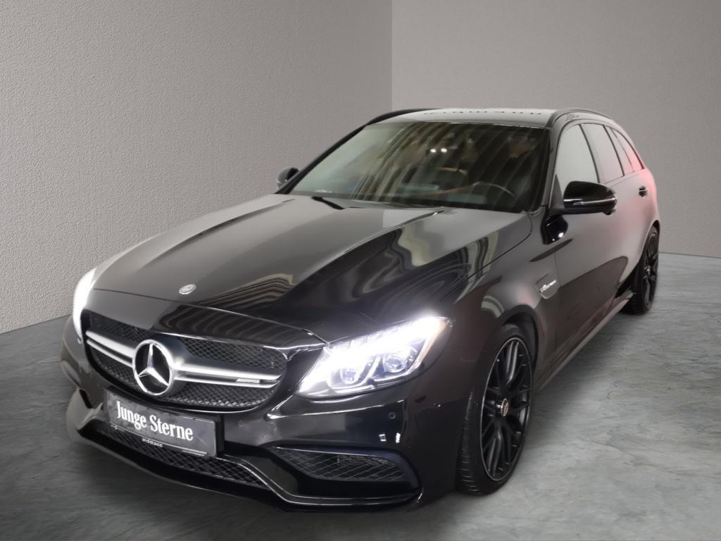 Mercedes-Benz C 63 AMG T *Night*Comand*LED*HUD*Kamera*Sitzhzg*, Jahr 2017, Benzin