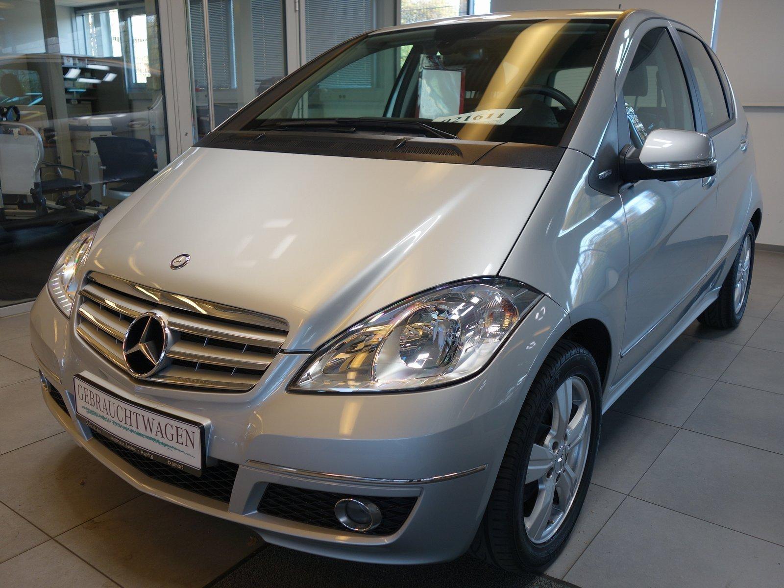 Mercedes-Benz A 160 Avantgarde Navi,Klima,Außenspiegel klappb., Jahr 2012, petrol