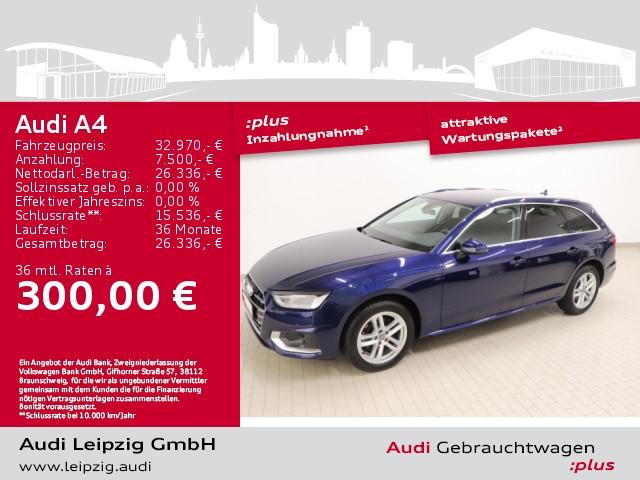 Audi A4 Avant 30TDI advanced*S tronic*pre sense city*, Jahr 2020, Diesel