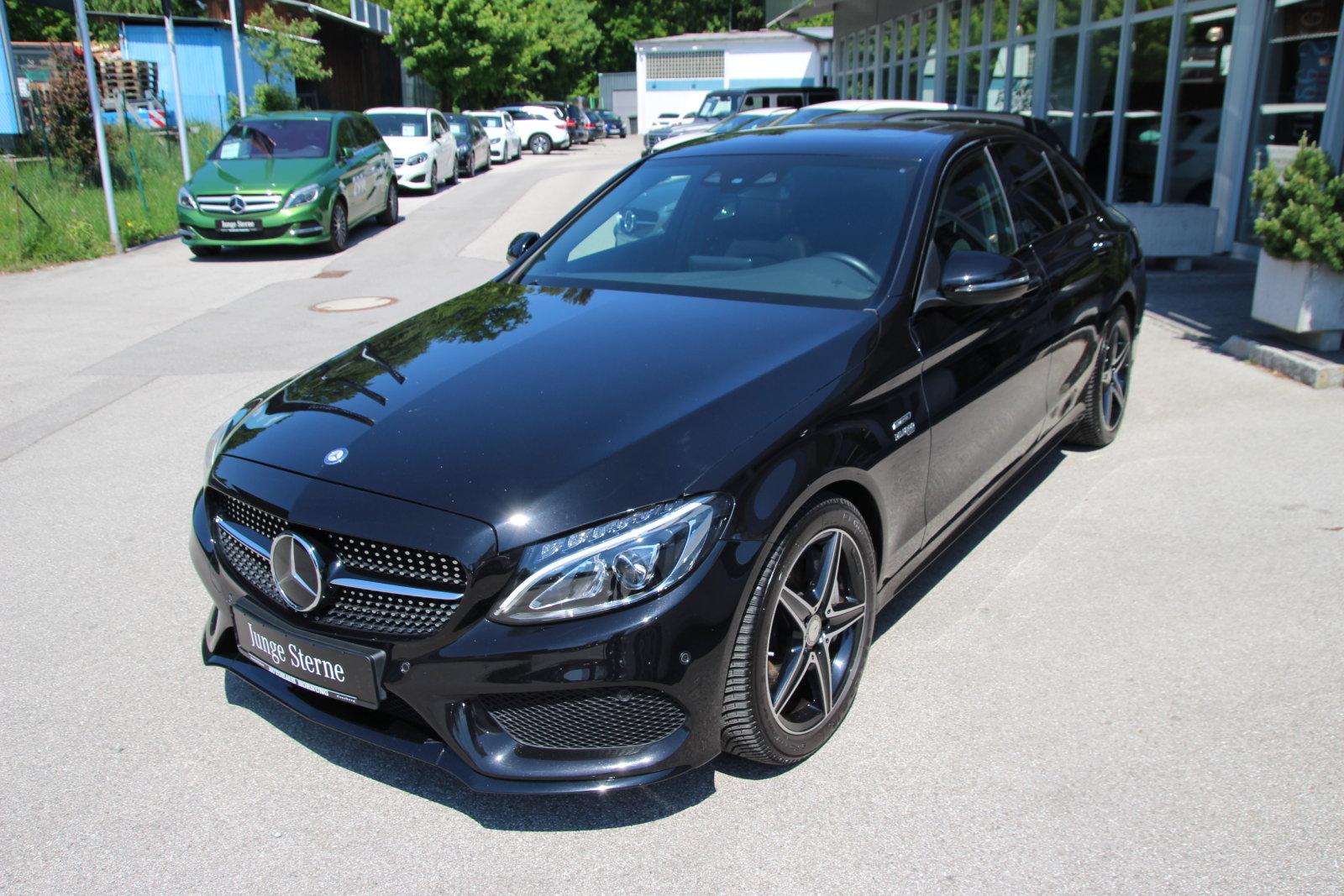 Mercedes-Benz C 43 / C 450 4MATIC /Night/Memory/Distr/Sound, Jahr 2016, Benzin