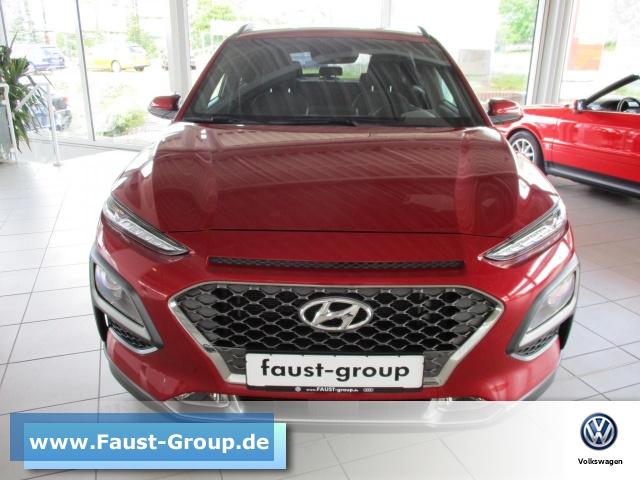 Hyundai Kona 1.0 T-GDI UPE 25000 EUR LED, Jahr 2018, Benzin