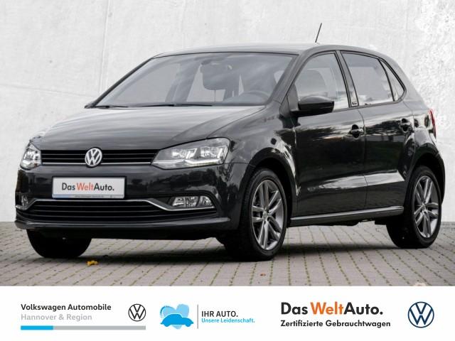 Volkswagen Polo 1.0 Allstar LED PDC Climatronic Sitzheizung, Jahr 2016, Benzin