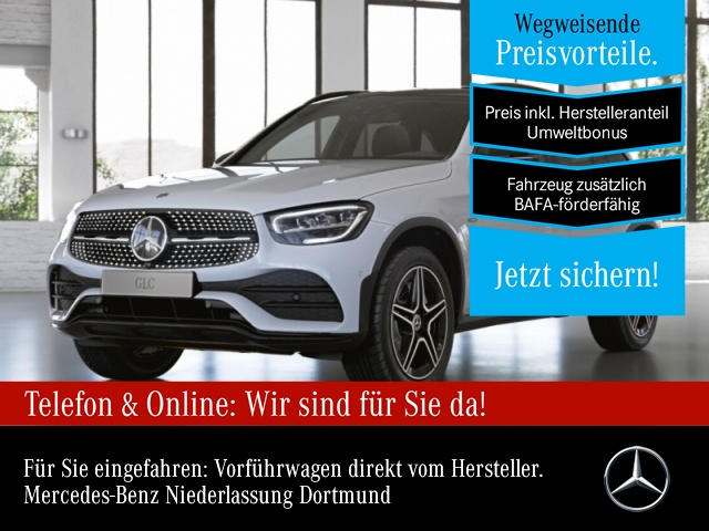 "Mercedes-Benz GLC 300 e 4M AMG Sportpaket Night AMG 18"" LED, Jahr 2020, hybrid"