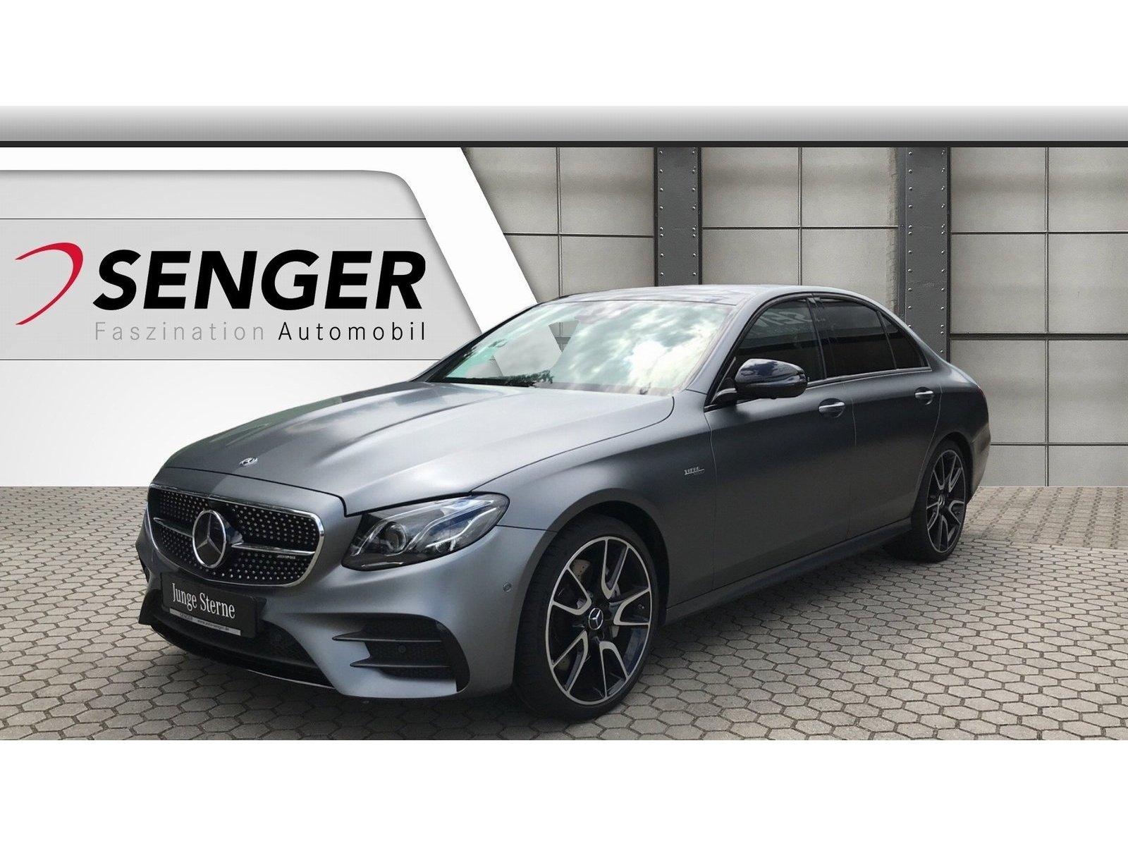 Mercedes-Benz E 53 AMG 4M Night Multibeam Distronic Widescreen, Jahr 2018, Benzin