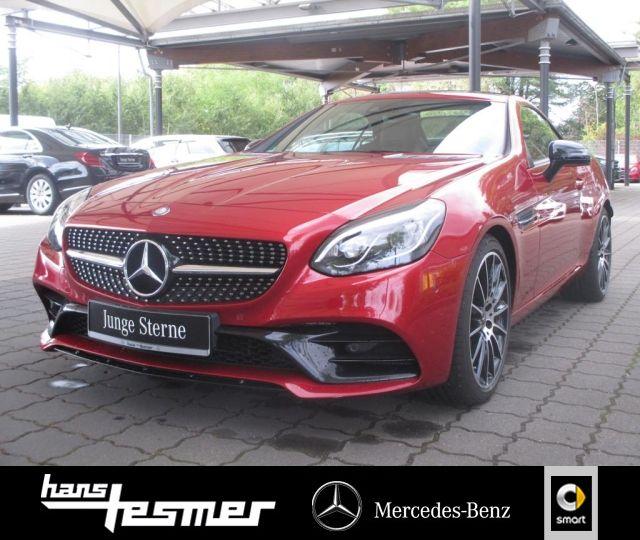 Mercedes-Benz SLC 200 Cabrio AMG+Magic-Sky+LED+Totwinkel+Leder, Jahr 2017, Benzin