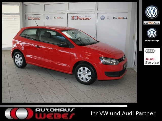 Volkswagen Polo 1.2 Trendline RCD210 KLIMA SH, Jahr 2013, petrol