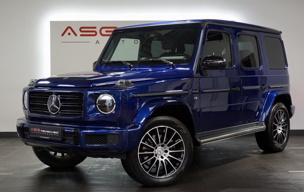 Mercedes-Benz G 500 AMG Line *Standhzg *Distr. *Night *360° *, Jahr 2018, Benzin
