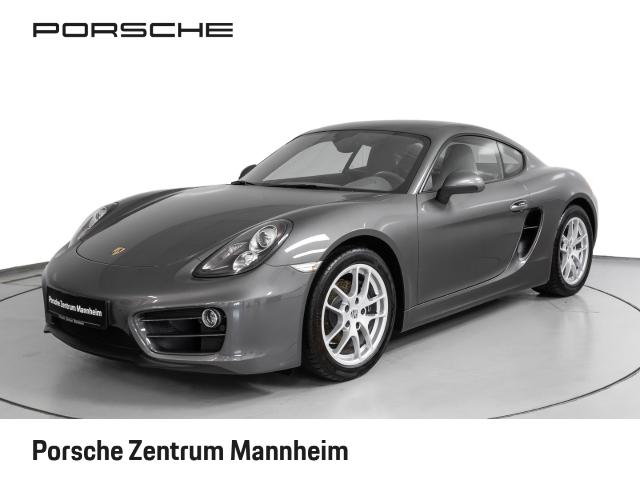 Porsche Cayman 1.Hd erst 2.300km PDC SHZ Klimaautomatik, Jahr 2014, petrol