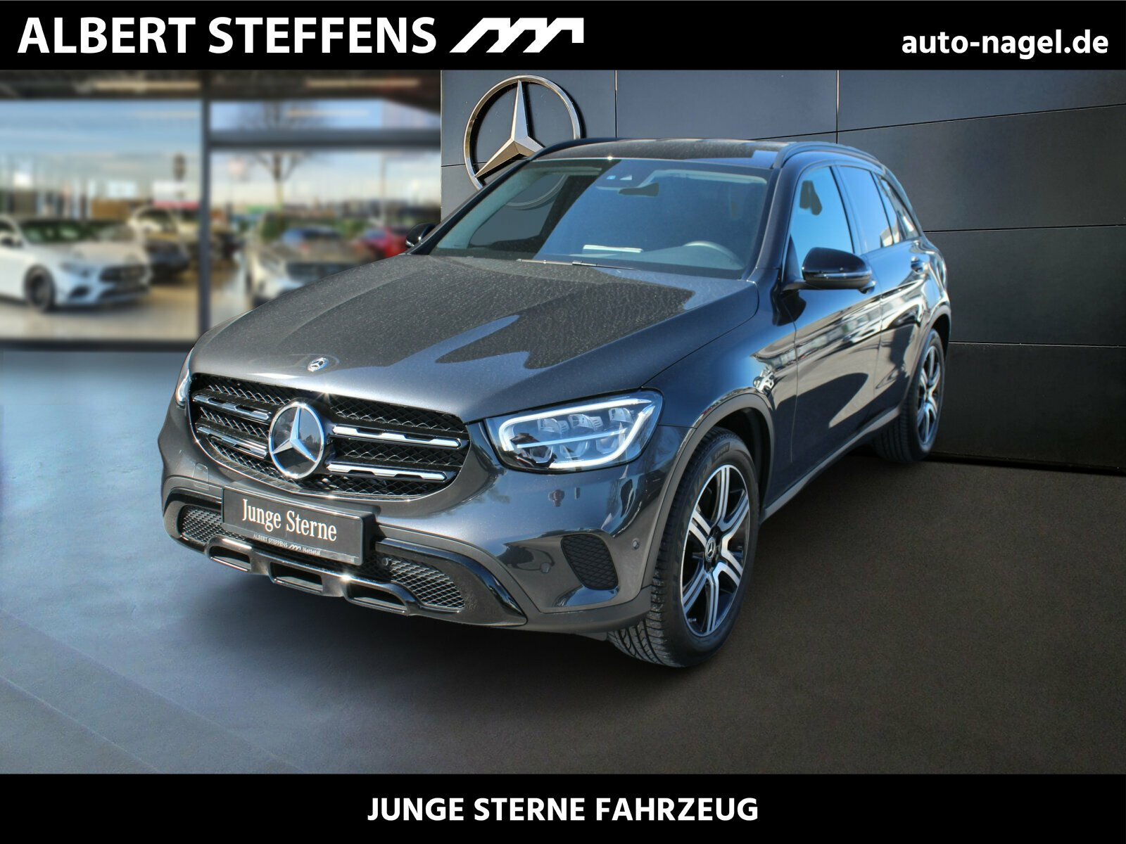 Mercedes-Benz GLC 200 4M Night.Pkt Ambiente+Sitzh+Kamera+LED, Jahr 2019, Benzin