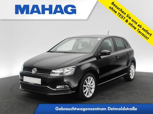 Volkswagen Polo HIGHLINE 1.2 TSI Sitzhz. Tempomat Bluetooth 16Zoll DSG, Jahr 2017, Benzin