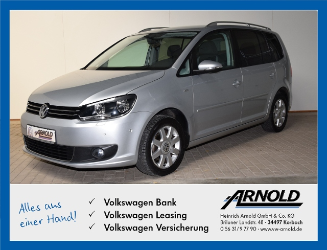 Volkswagen Touran TSI Life, Climatronic, Navi., Jahr 2013, Benzin
