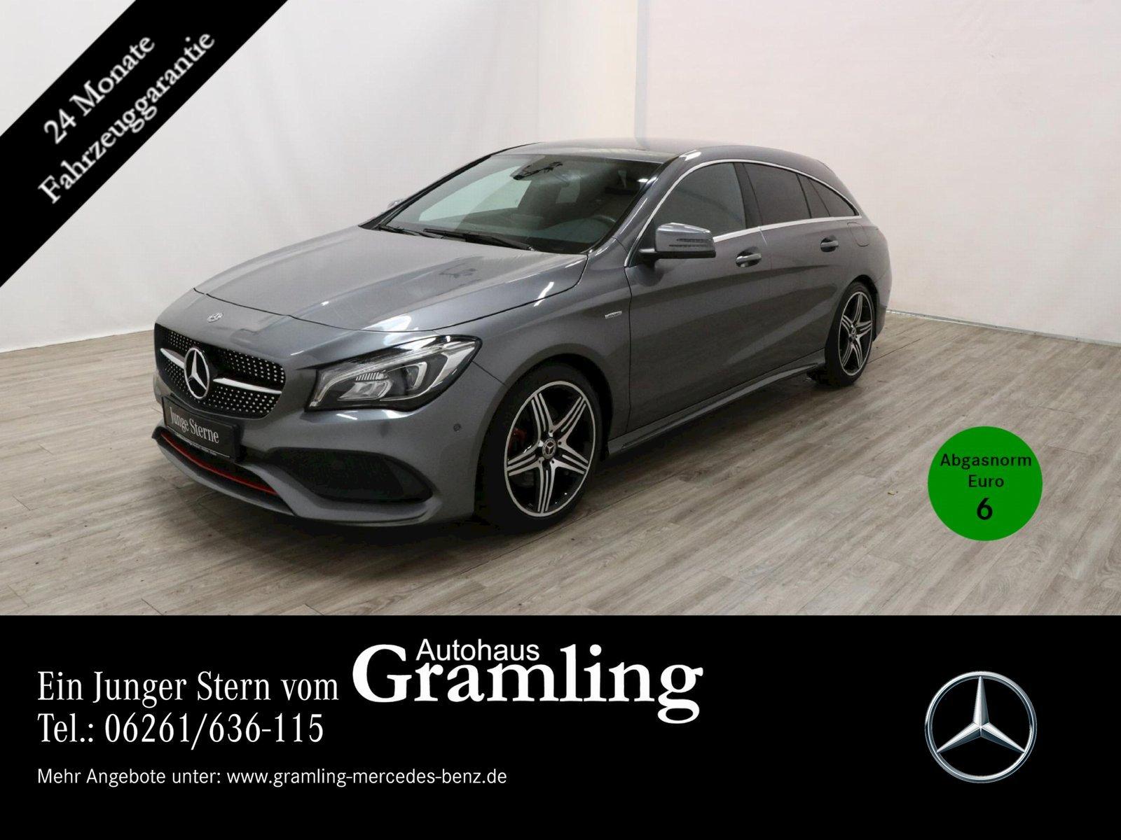 Mercedes-Benz CLA 250 SB 4M Sport AMG*Kamera*Navi*LED*Sitzheiz, Jahr 2017, Benzin
