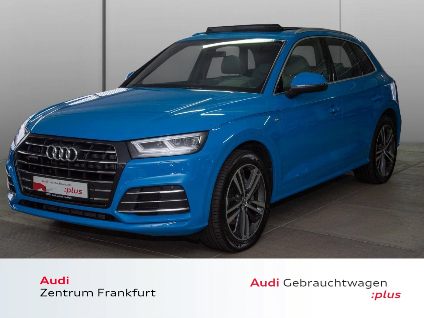 Audi Q5 55 TFSI e quattro S tronic S line Navi Panorama AHK VC LED B&O, Jahr 2020, Hybrid