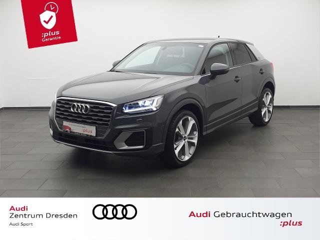 Audi Q2 Sport 35TFSI S tronic LED-SW AHZV DAB, Jahr 2020, Benzin