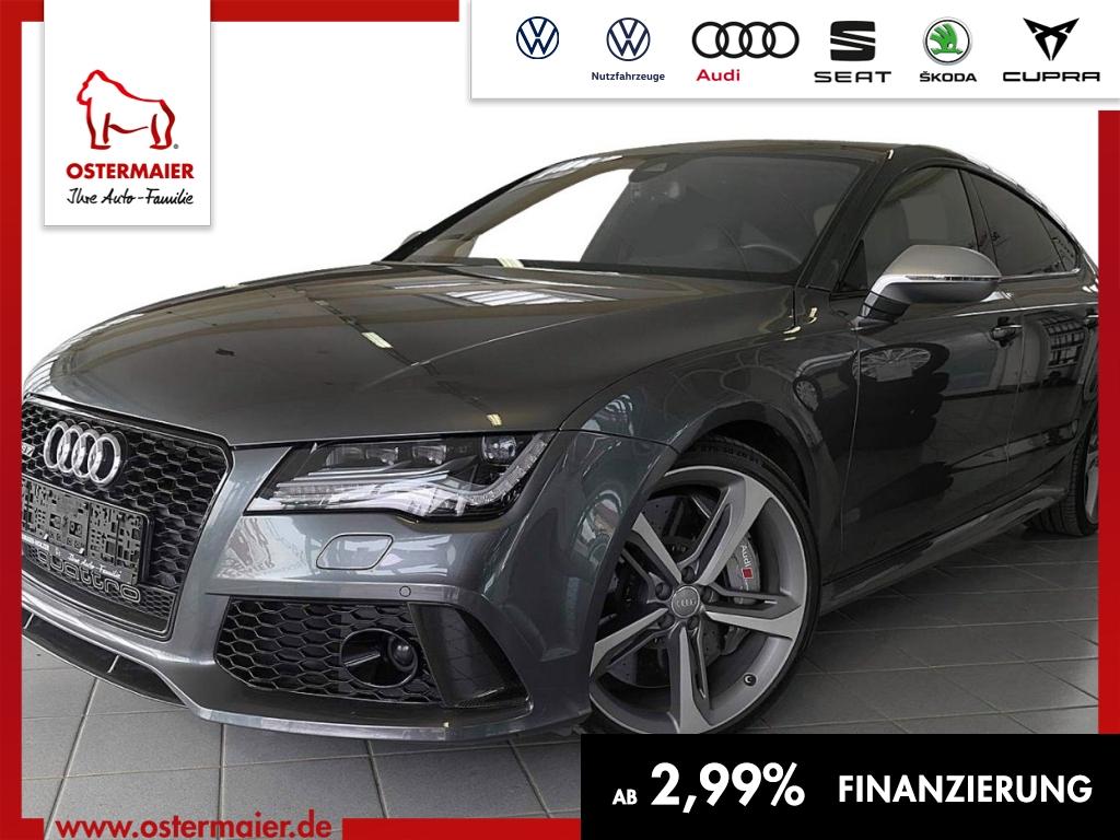 Audi RS7 4.0TFSI QUATTRO DSG DYNAMIK PLUS.HEAD-UP.LED, Jahr 2014, petrol