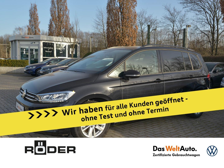 Volkswagen Touran Comfortline 1.5 TSI DSG Navi LED ACC 7 Si, Jahr 2020, Benzin