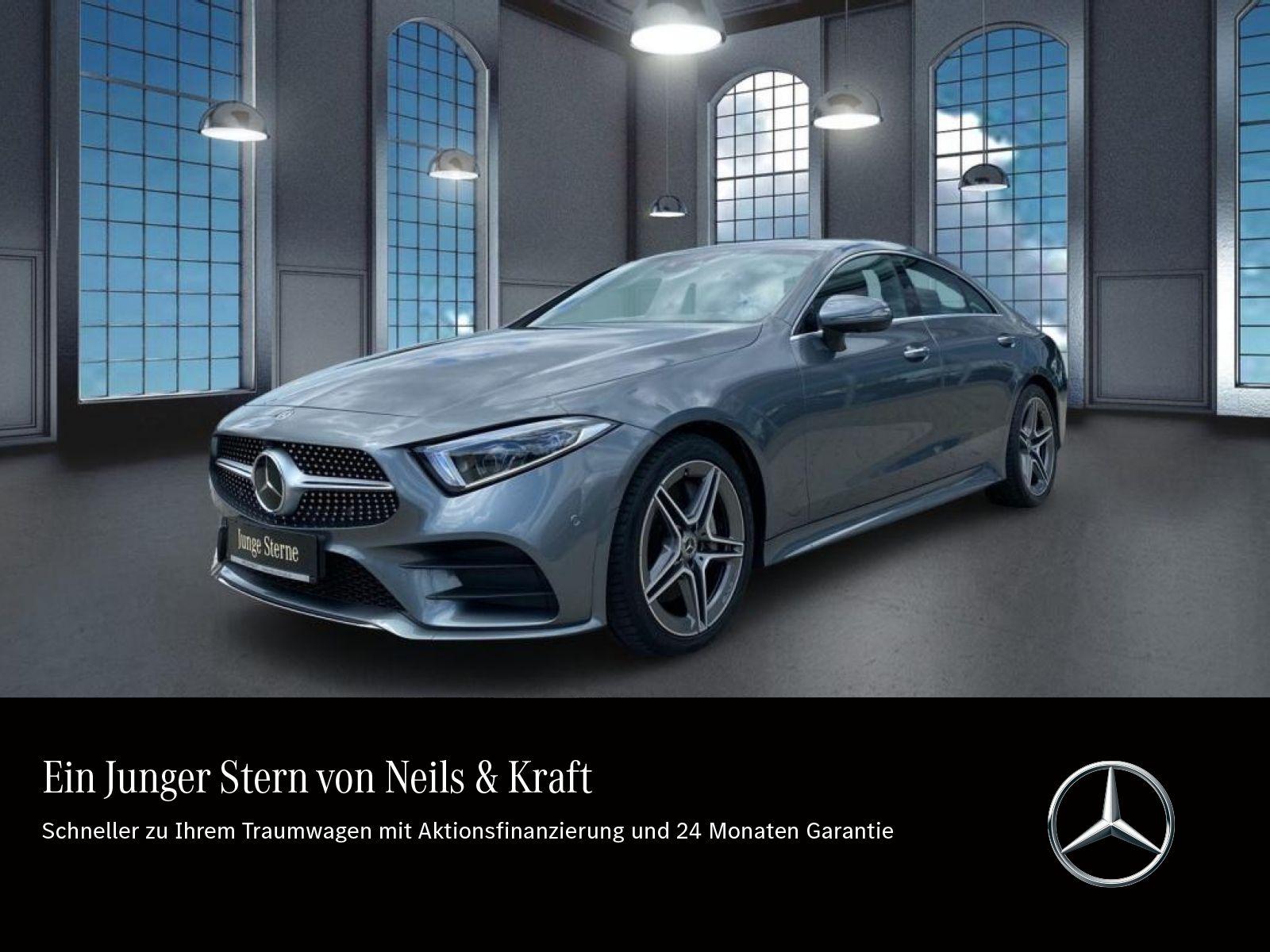 Mercedes-Benz CLS 400d 4M AMG+LUFTFED+FAHRASS+KLIMASITZE+ALARM, Jahr 2018, Diesel