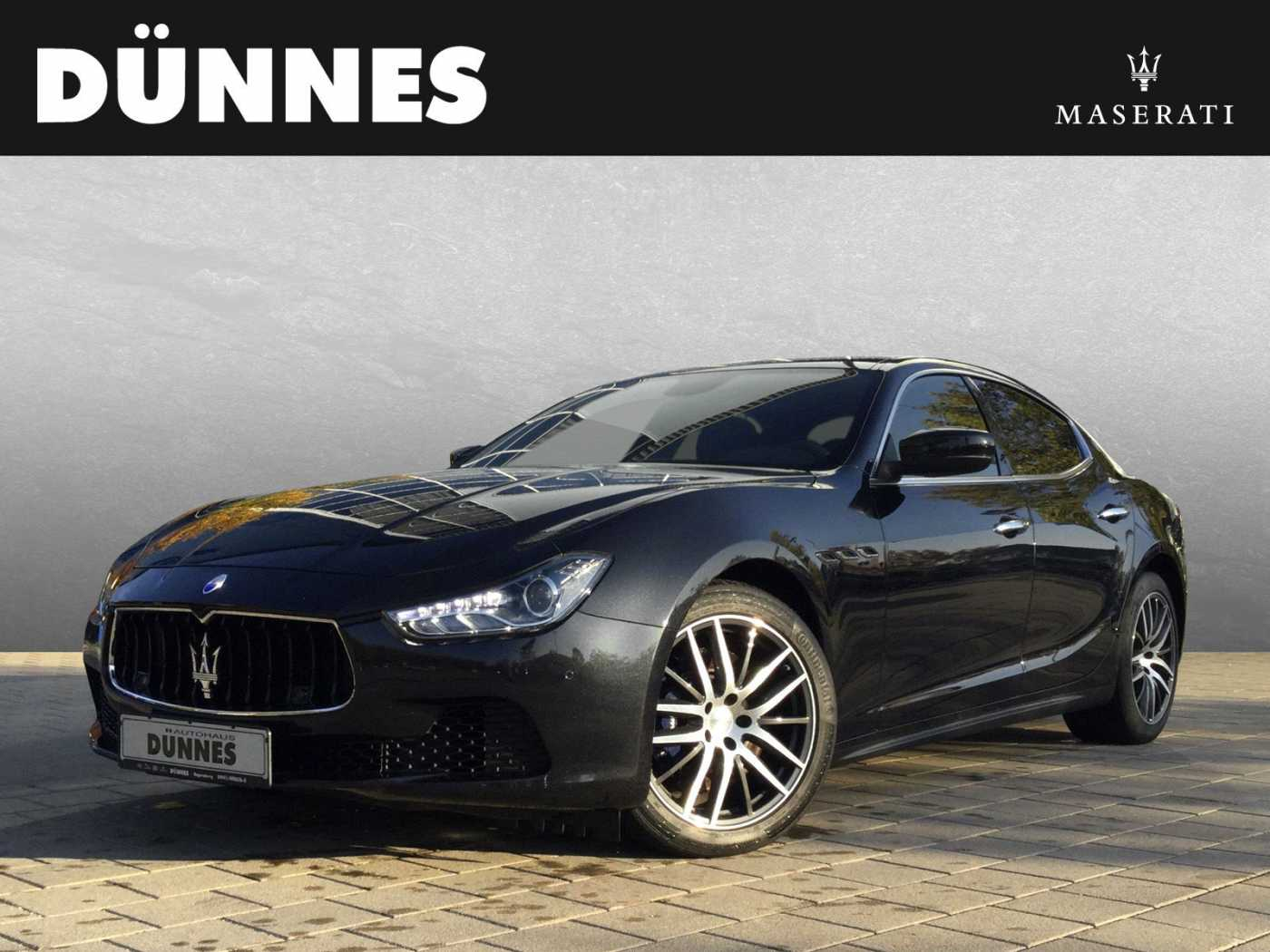 Maserati Ghibli Diesel Automatik - Business Plus, Toter Winkel, 19', uvm. - Maserati Regensburg, Jahr 2016, Diesel