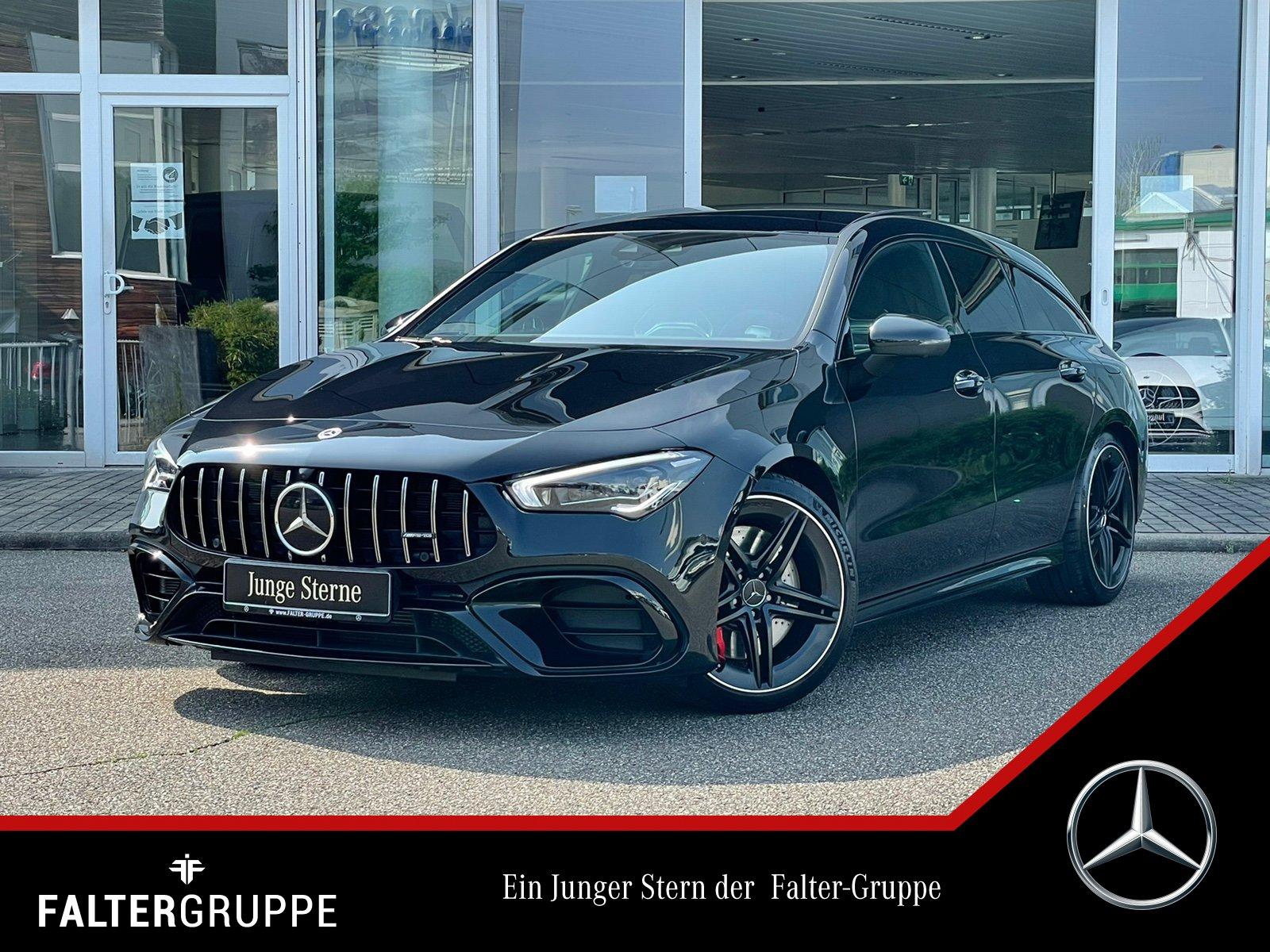 Mercedes-Benz CLA 45S 88.851- PERF-SITZE+DISTR+PANO+BURM+MLED, Jahr 2020, Benzin