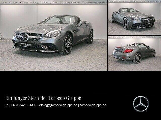 Mercedes-Benz SLC 300 AMG AIRSCARF+LED+DISTR+KAMERA+Spur Paket, Jahr 2019, Benzin