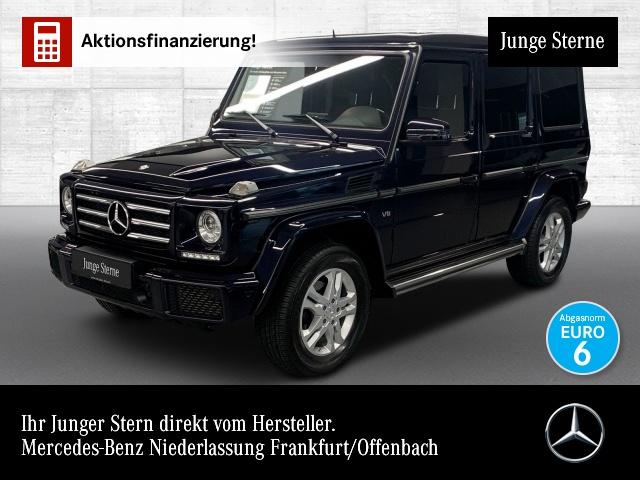 Mercedes-Benz G 500 designo Stdhzg Harman Distr. SHD AHK, Jahr 2016, Benzin