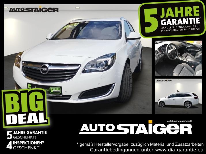 Opel Insignia A ST 1.6 CDTI Inno Automatik*Navi*Xenon, Jahr 2017, Diesel