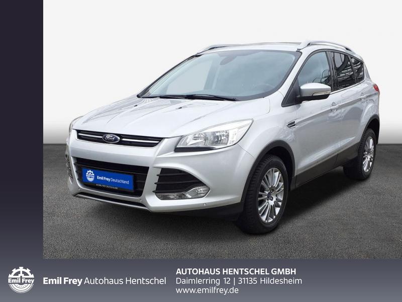 Ford Kuga 1.6 EcoBoost 2x4 Titanium, Jahr 2014, Benzin