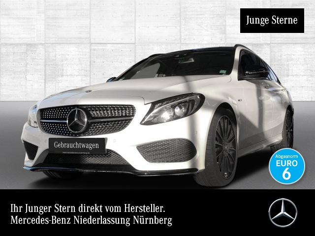 Mercedes-Benz C 450 AMG T 4M Pano LED Night Kamera Navi SpurPak, Jahr 2016, Benzin