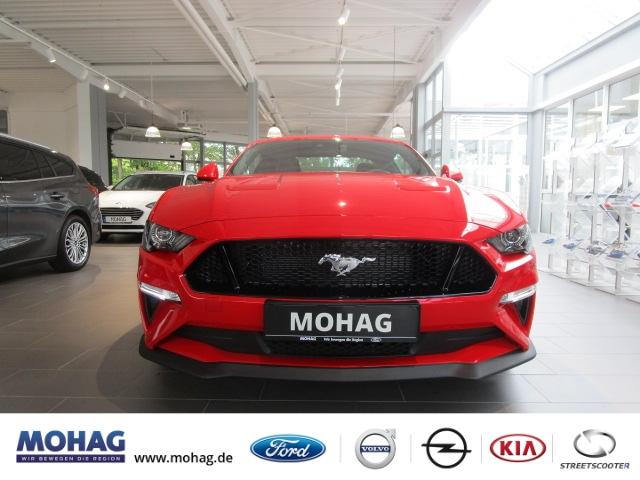 Ford Mustang GT Leder Navi e-Sitze Rückfahrkam. Multif.Lenkrad NR RDC Klimaautom Temp PDC USB, Jahr 2020, Benzin