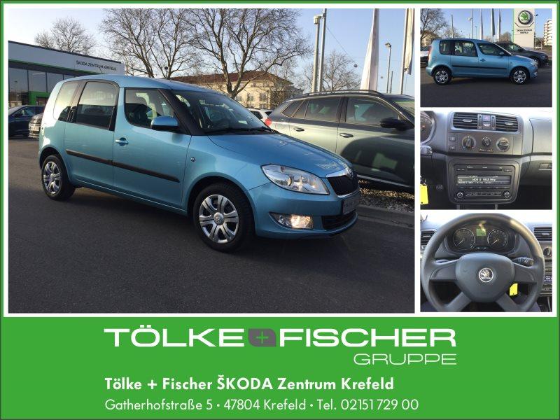 Skoda Roomster Ambition 1,2 TSI Klima 121,- € mtl., Jahr 2013, Benzin