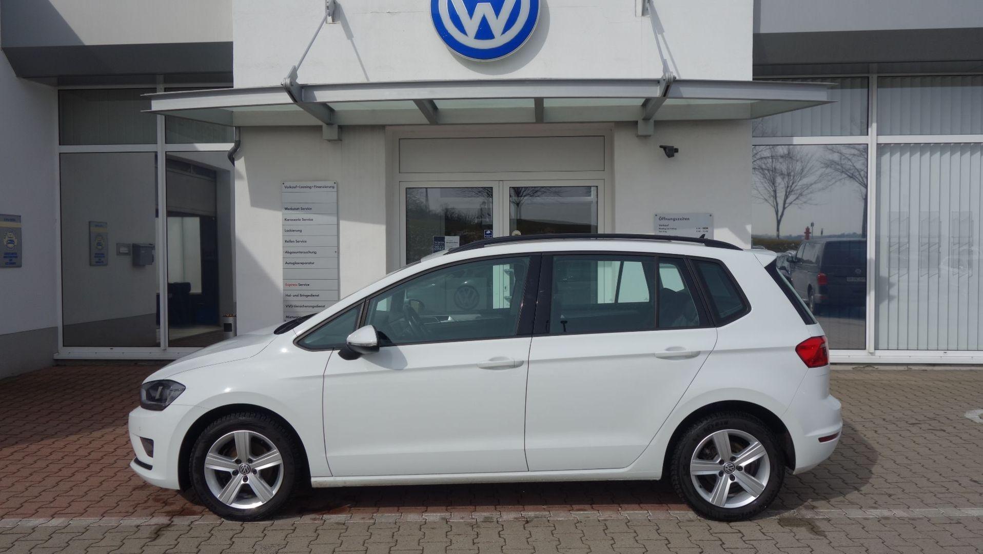 Volkswagen Golf Sportsvan Comfortline 1.2 TSI Fahrschulwage, Jahr 2016, Benzin