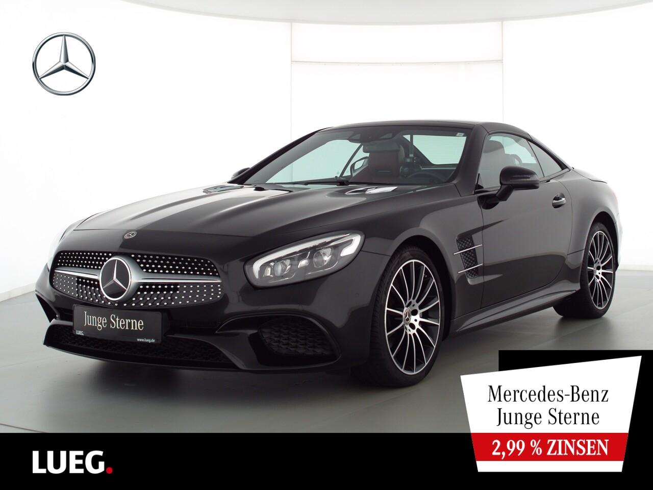 Mercedes-Benz SL 500 AMG+COM+PanoV+LED-ILS+19''+Distr+HarmK+RF, Jahr 2020, Benzin
