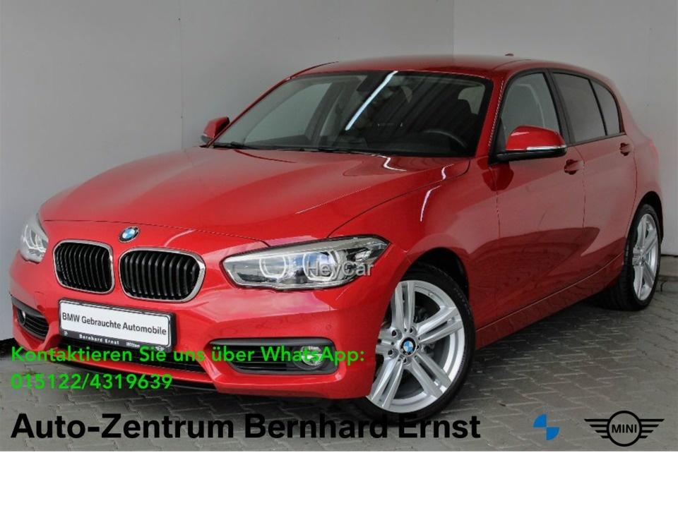 BMW 120i Advantage Aut. PDC Sitzhzg. Vorn MF Lenkrad, Jahr 2017, Benzin